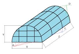 semicircular greenhouse