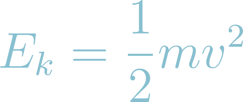 Formula of Kinetic Energy