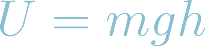 Formula of potential energy