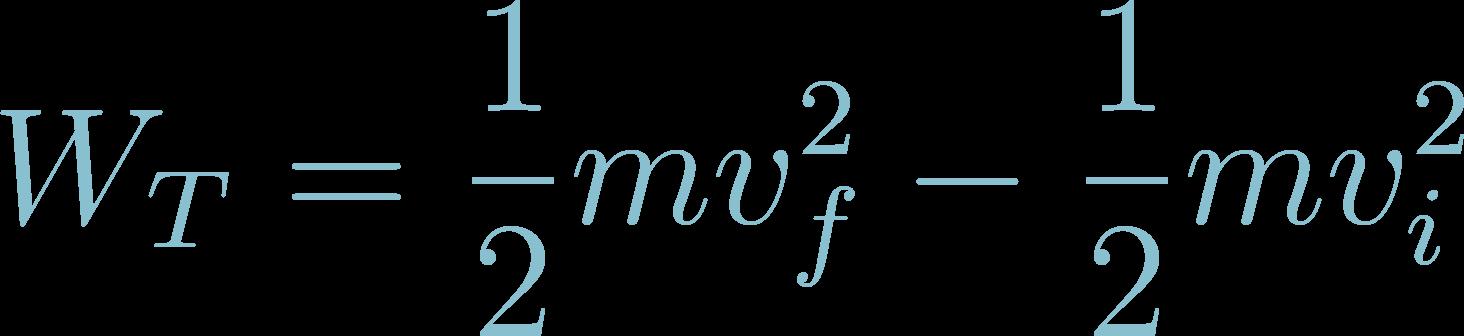 Formula of Total Work